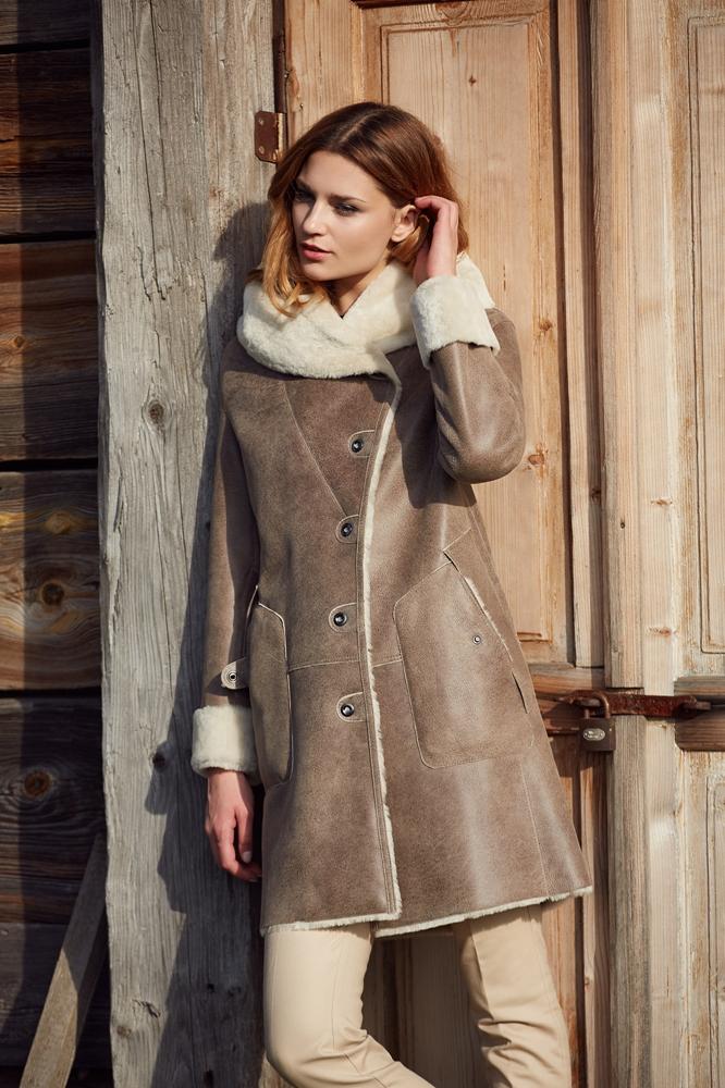78e5cafb7ef26 Kożuchy damskie - kożuchy płaszcze wełniane - szycie odzieży skórzanej Gołda
